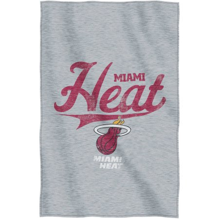 "NBA Miami Heat ""Script"" 54"" x 84"" Sweatshirt Throw"