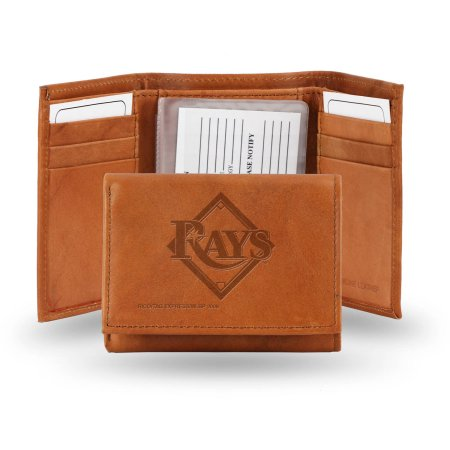 MLB Rico Industries Tampa Bay Rays Embossed Tri-Fold Wallet