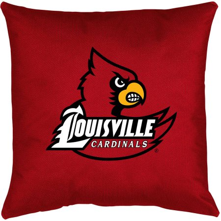 NCAA University of Louisville Locker Room Toss Pillow