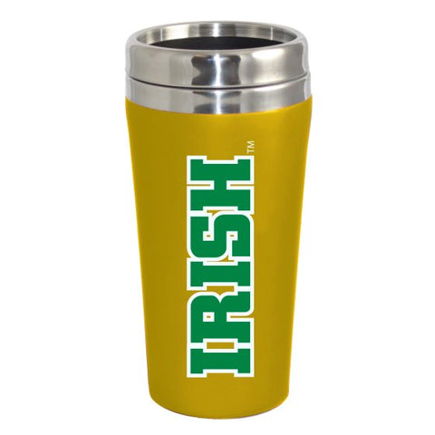 NCAA Notre Dame Fighting Irish 16 oz Double Walled Travel Tumbler