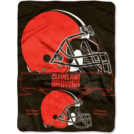 "NFL Cleveland Browns ""Prestige"" 60"" x 80"" Raschel Throw"