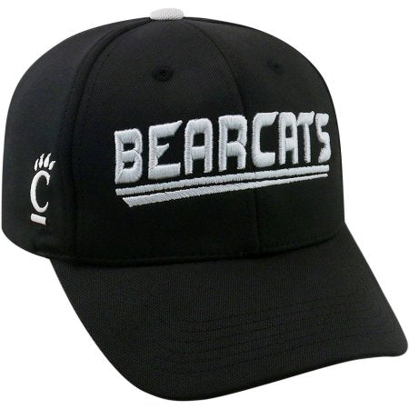 NCAA University of Cincinnati Bearcats Black Baseball Hat \ Cap