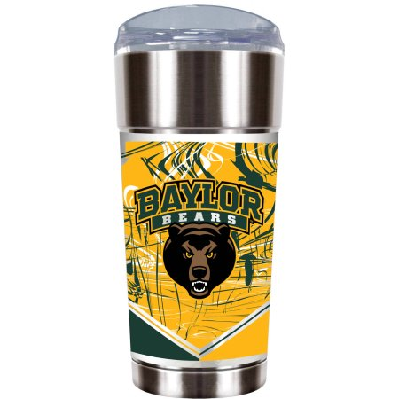 "NCAA Baylor Bears ""The EAGLE"" 24 oz Vacuum Insulated Stainless Steel Tumbler"