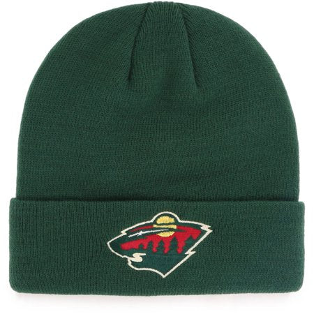 NHL Minnesota Wild Mass Cuff Stocking Hat Beanie