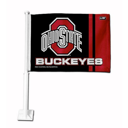 NCAA Ohio State Buckeyes Car Flag - Secondary