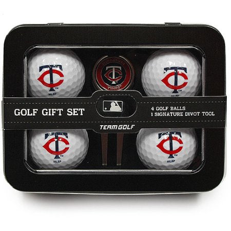 MLB Minnesota Twins 4 Golf Ball And Divot Tool Set