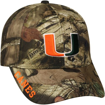 NCAA Men's Miami Hurricanes Mossy Hat \ Cap