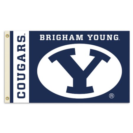 NCAA BYU Cougars 3'x5' Flag