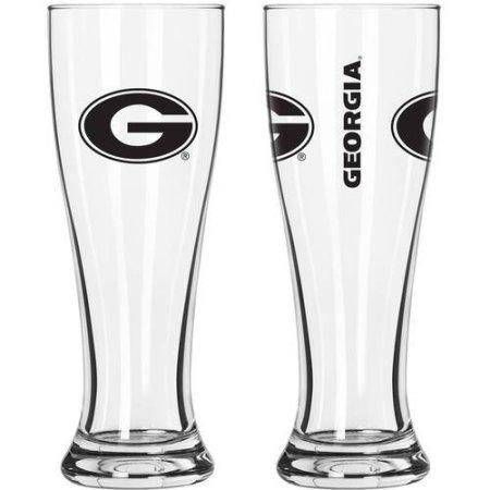 NCAA Georgia Bulldogs 2-Pack Gameday Pilsner Set
