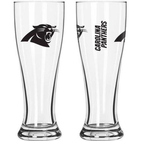 NFL Carolina Panthers 2-Pack Gameday Pilsner Set