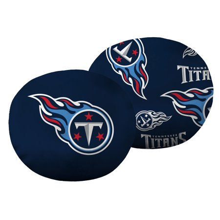 "NFL Tennessee Titans 11"" Cloud Travel Pillow"