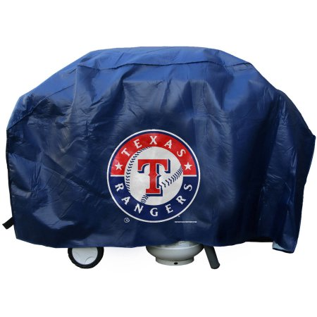 MLB Texas Rangers Deluxe Grill Cover
