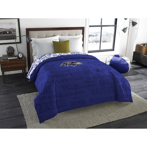 "NFL Baltimore Ravens ""Anthem"" Twin/Full Bedding Comforter"