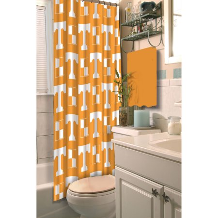 NCAA University of Tennessee Volunteers Shower Curtain