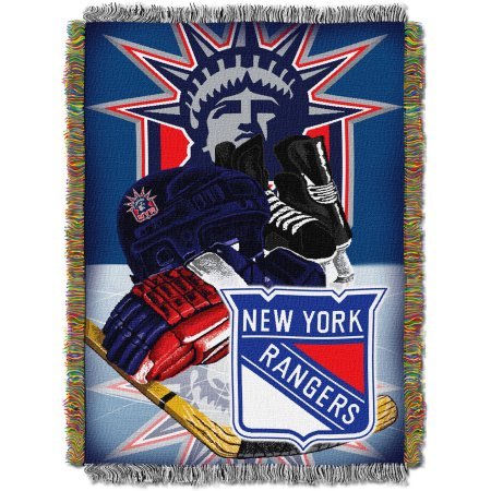 "NHL 48"" x 60"" Home Ice Advantage Series Tapestry Throw, Rangers"