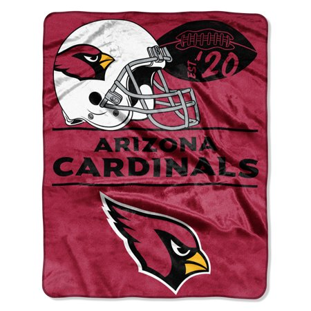 "NFL Arizona Cardinals ""Conference"" - Silk Touch Throw Blanket, 55"" x 70"""