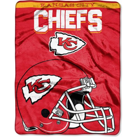 "NFL Kansas City Chiefs ""Drawback"" 55"" x 70"" Silk Touch Throw"