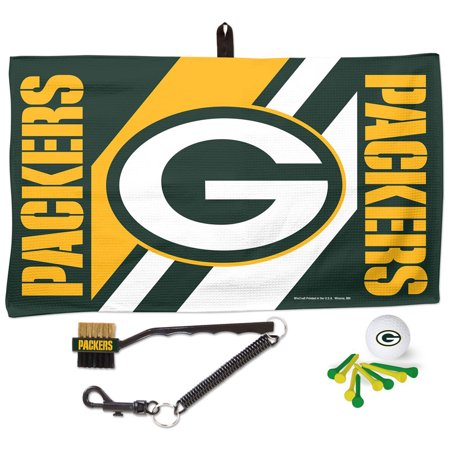 Green Bay Packers WinCraft Waffle Towel Golf Gift Set - No Size