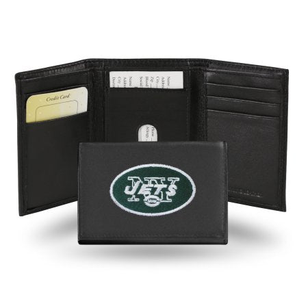 NFL - Men's New York Jets Embroidered Trifold Wallet