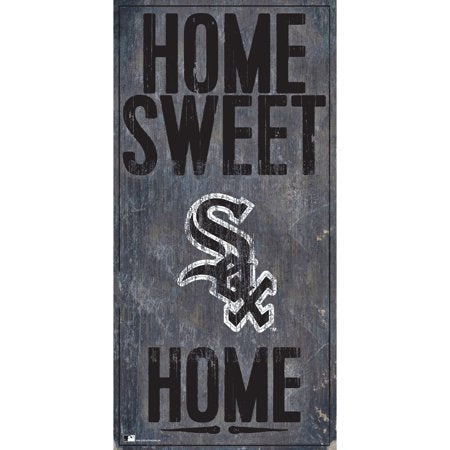 MLB Chicago White Sox 6'' x 12'' Home Sweet Home Sign