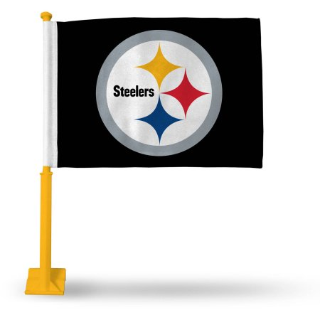 NFL Pittsburgh Steelers Car Flag - Style 2