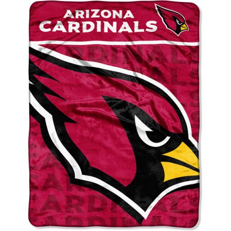 "NFL Arizona Cardinals 46"" x 60"" Micro Raschel Throw Blanket"