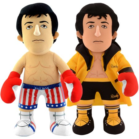 "Bleacher Creatures Dynamic Duo 10"" Plush Figures, Rocky and Rocky in Gold Robe"