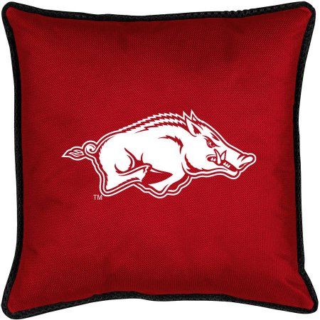 NCAA University of Arkansas Sidelines Toss Pillow