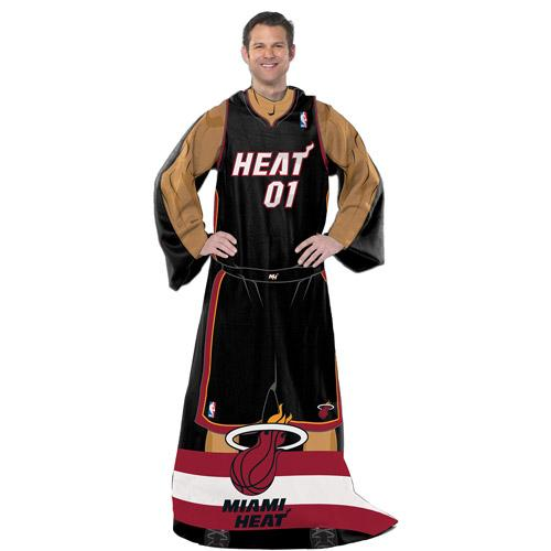 "NBA Player 48"" x 71"" Comfy Throw, Heat"