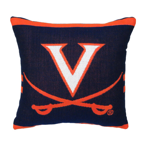 "NCAA Virginia Cavaliers 20"" Square Decorative Woven Pillow"