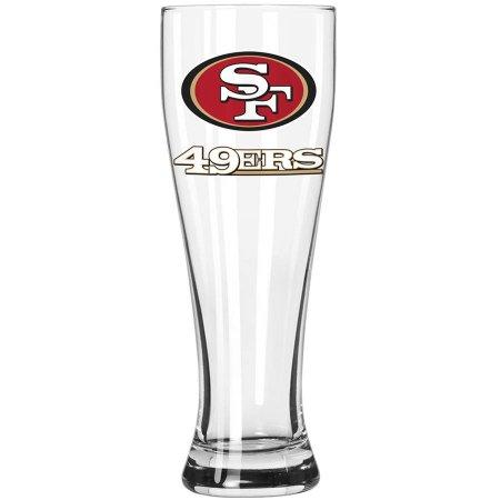 Boelter Brands NFL San Francisco 49ers 23-Ounce Grand Pilsner with Full Color Team Logo