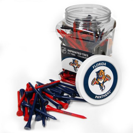 Team Golf NHL Florida Panthers Jar of 175 Golf Tees