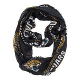 NFL Jacksonville Jaguars Sheer Infinity Scarf - Little Earth