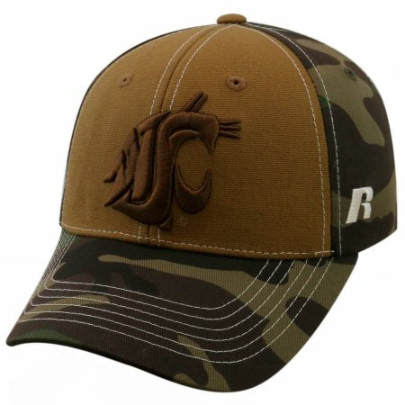 NCAA University of Washington State Cougars Mossy Baseball Hat \ Cap