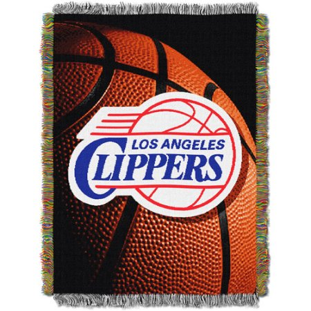 "NBA 48"" x 60"" Photo Real Series Tapestry Throw, Clippers"