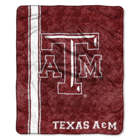 "NCAA Texas A Aggies ""Jersey"" 50"" x 60"" Sherpa Throw"