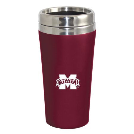 Mississippi NCAA Bulldogs Double Walled Travel Tumbler