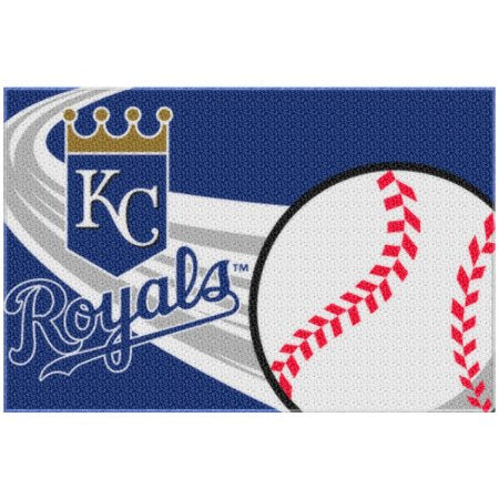 "MLB Kansas City Royals 20"" x 30"" Tufted Bath Rug"