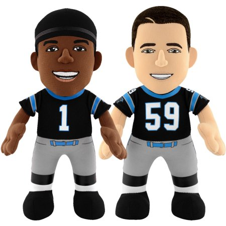 "Bleacher Creatures Dynamic Duo 10"" Plush Figures, Panthers Newton and Keukly"