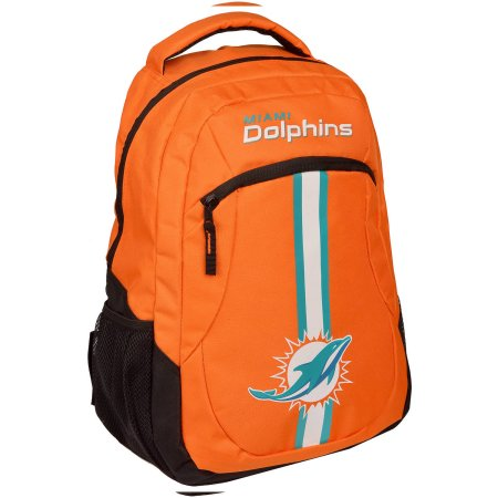 NFL Miami Dolphins  Action Stripe Logo Backpack