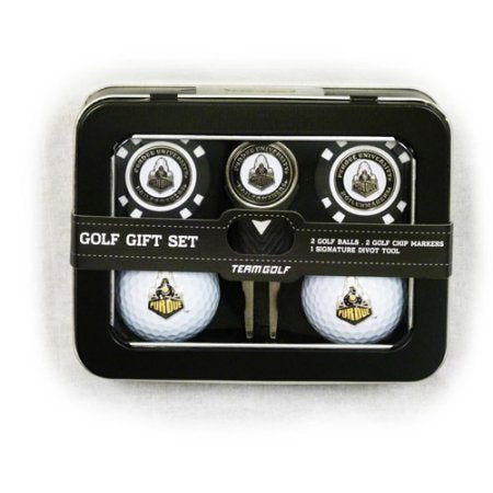 NCAA Purdue Boilermakers 2 Golf Balls, 2 Golf Chip Ball Markers and Divot Tool Set