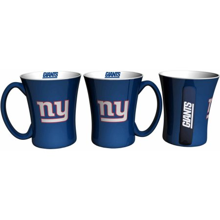 Boelter Brands NFL Set of Two 14 Ounce Victory Mugs, New York Giants