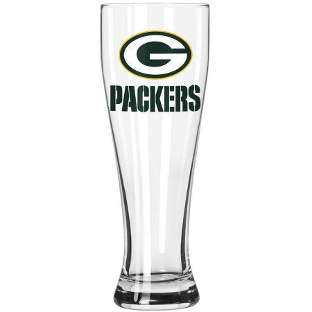 Boelter Brands NFL Green Bay Packers 23-Ounce Grand Pilsner with Full Color Team Logo