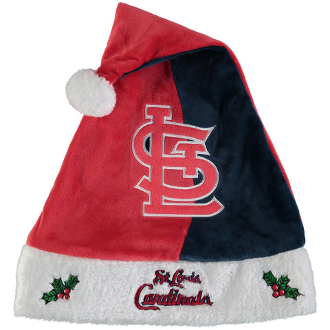 MLB St. Louis Cardinals Logo Santa Hat - Forever Collectibles