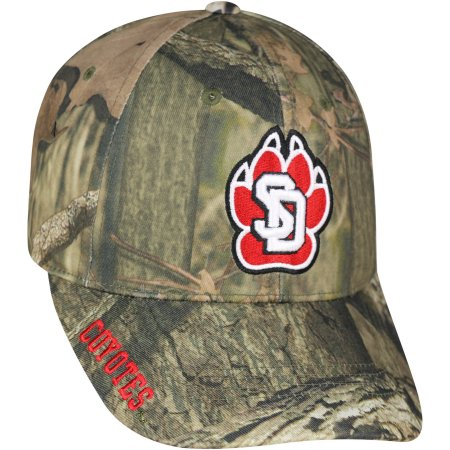 NCAA Men's South Dakota Coyotes Mossy Hat \ Cap