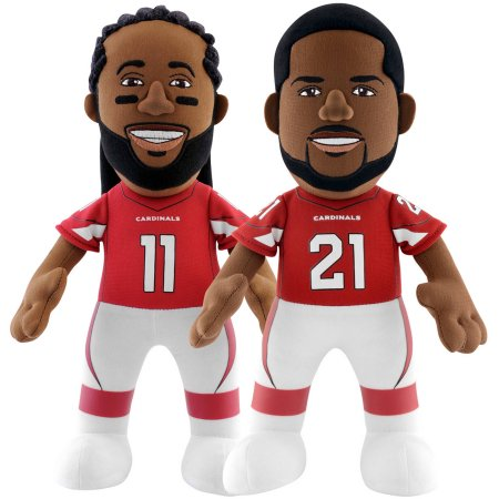 "Bleacher Creatures Dynamic Duo 10"" Plush Figures, Cardinals Fitzgerald and Peterson"