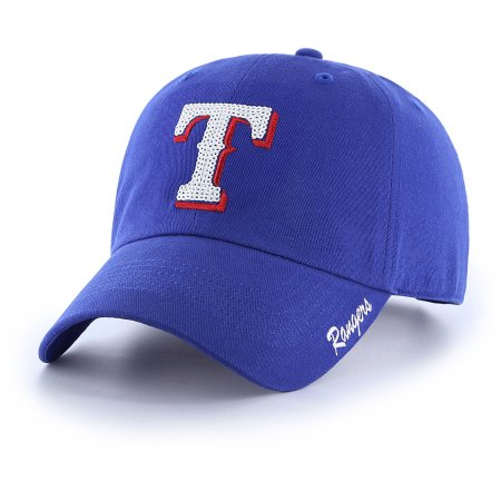 MLB Texas Rangers Sparkle Women's Adjustable Cap/Hat by Fan Favorite