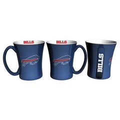 Boelter Brands NFL Set of Two 14 Ounce Victory Mugs, Buffalo Bills