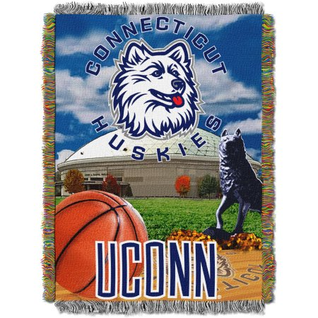"NCAA 48"" x 60"" Tapestry Throw Home Field Advantage Series- UCONN"