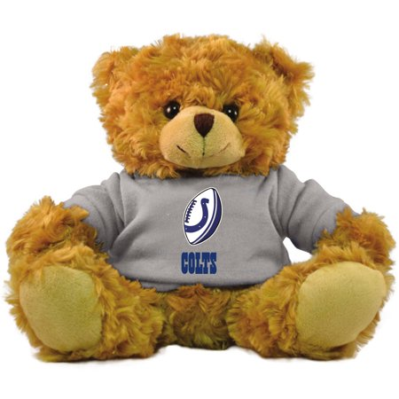 "Bleacher Creatures NFL 9"" Rally Men Hoodie Bear, Indianapolis Colts"